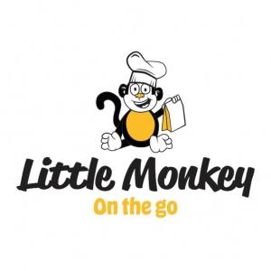 Little monkey on the go Logo